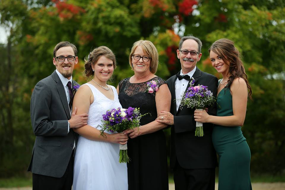 At Sons Wedding