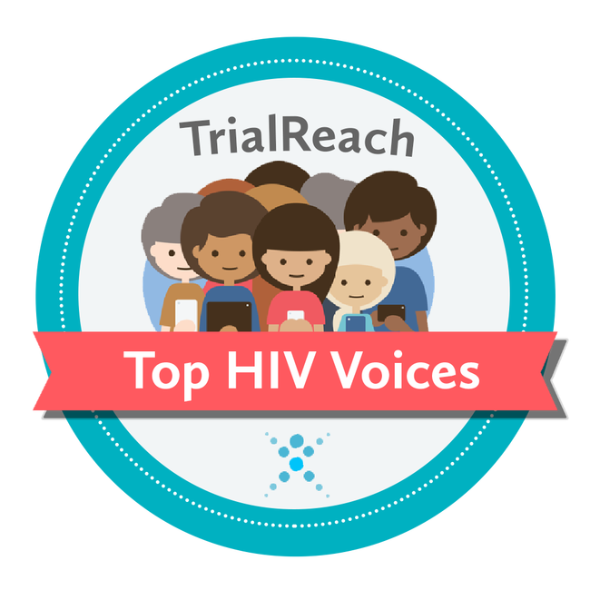 TOP HIV Voices badge