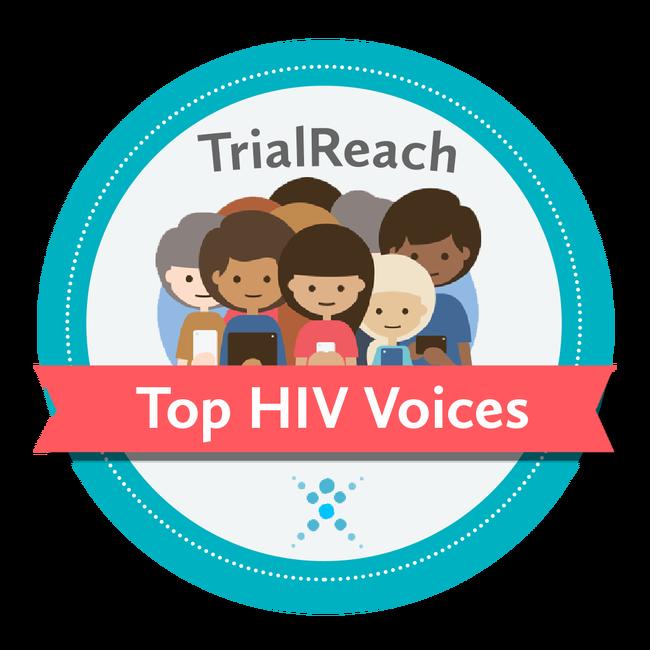 TOP HIV Voices badge