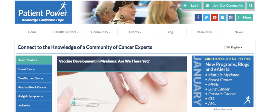 Resources for Cancer Patients and Caregivers