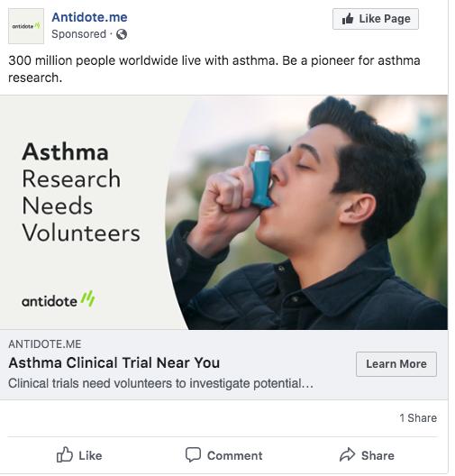asthma volunteers