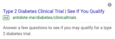 paid search example