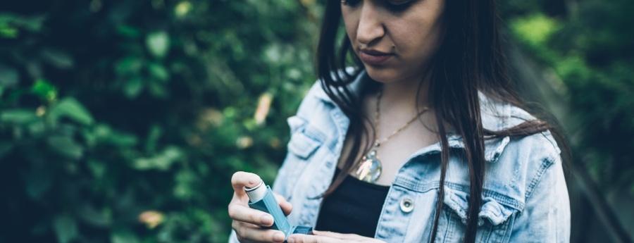 new asthma drug trials