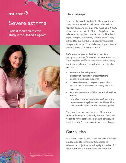 Asthma Case Study