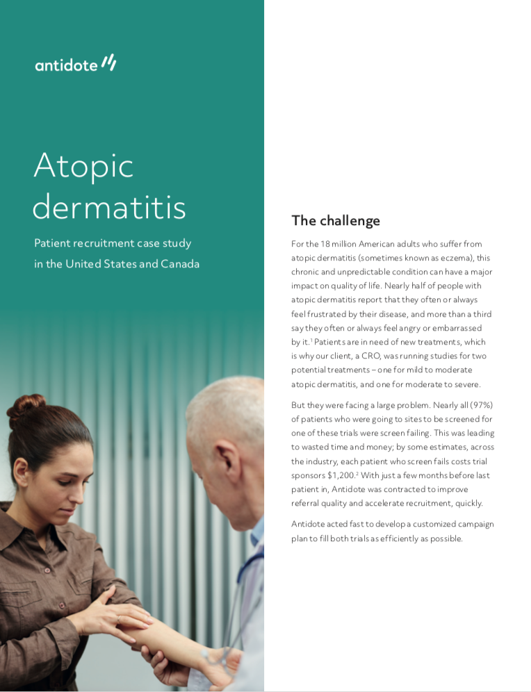 Atopic Dermatitis Case Study