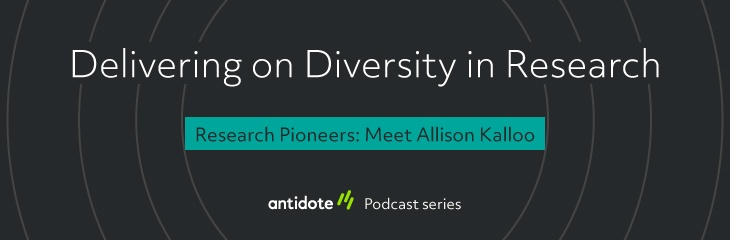 Research Pioneers: Meet Allison Kalloo