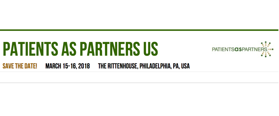 Patients as Partners Conference 2018: Focusing on Patient Centricity